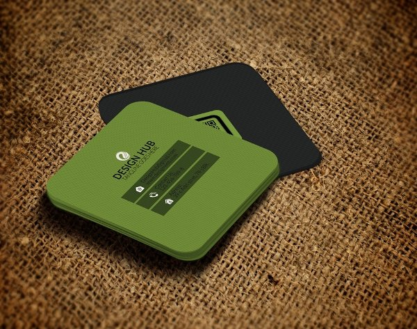 Square Business Card Template Awesome 22 Square Business Cards Free Psd Eps Illustrator