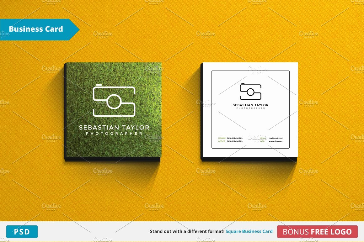 Square Business Card Template Lovely S Square Business Card Template Business Card