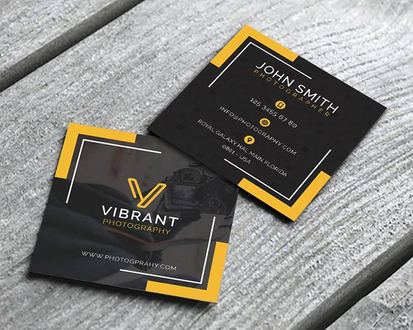 Square Business Card Template Luxury Mini Square Business Card Psd Templates Design