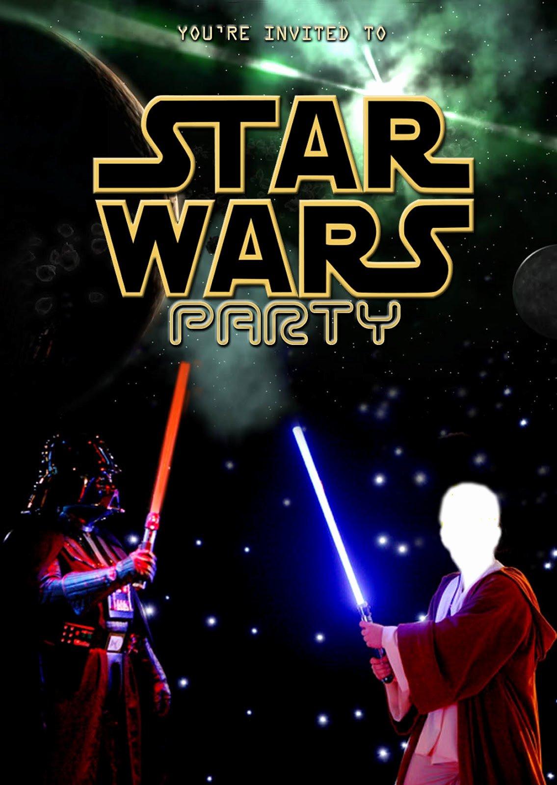 Star Wars Invitations Template Elegant Free Kids Party Invitations Star Wars Party Invitation