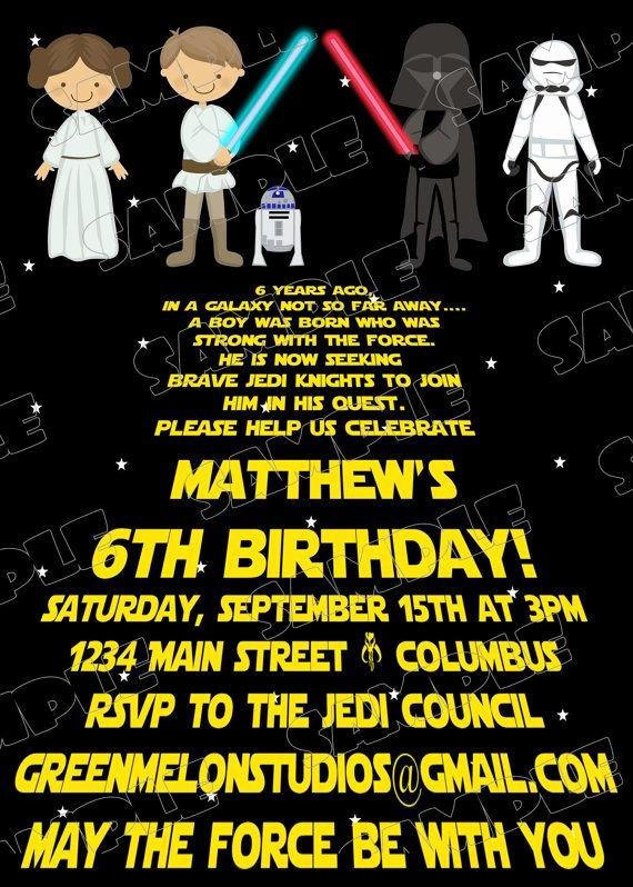 Star Wars Invitations Template Fresh Free Printable Star Wars Birthday Invitations Template