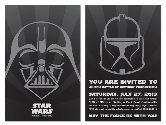 Star Wars Invitations Template Lovely Star Wars Wedding Invitations Template