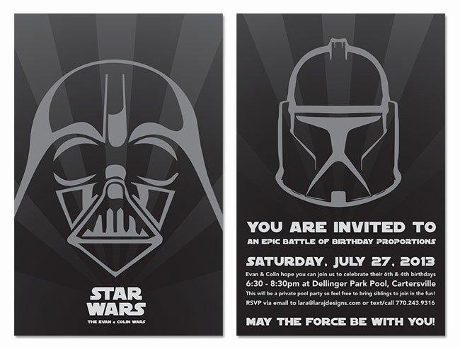 Star Wars Invitations Template Lovely Star Wars Wedding Invitations Template