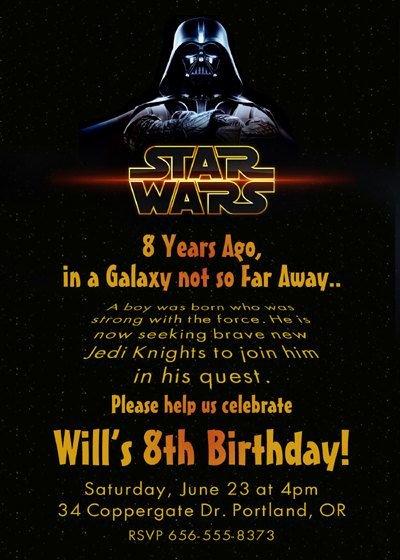 Star Wars Invitations Template New 17 Best Ideas About Star Wars Invitations On Pinterest