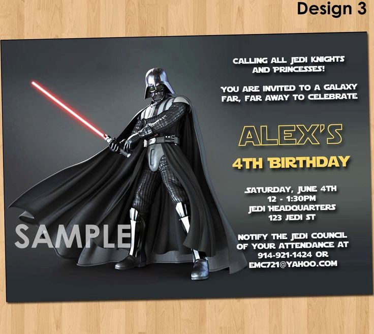 Star Wars Invitations Template New 256 Best New Invitations Images On Pinterest