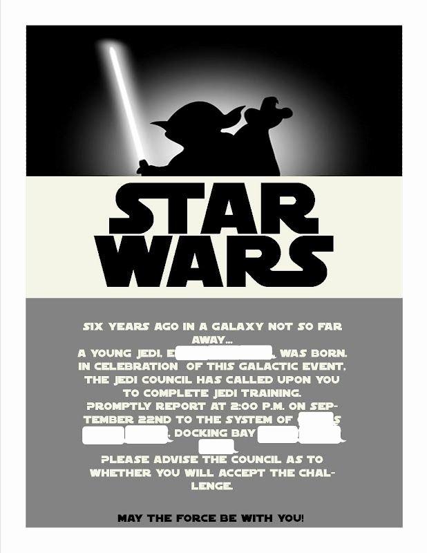 Star Wars Invitations Template Unique Best 25 Star Wars Invitations Ideas On Pinterest