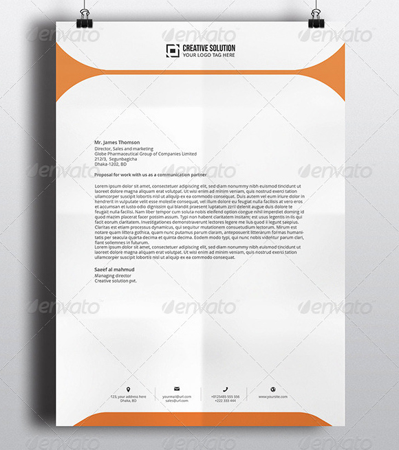 Stationary Template for Word Awesome 10 Letterhead Template Download Free Documents In Pdf