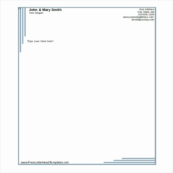 Stationary Template for Word Awesome 38 Free Download Letterhead Templates In Microsoft Word