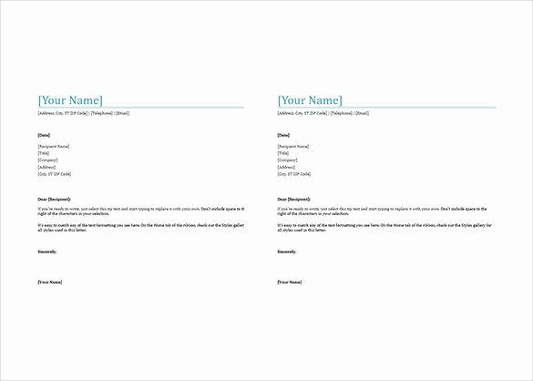 Stationary Template for Word Inspirational 38 Free Download Letterhead Templates In Microsoft Word