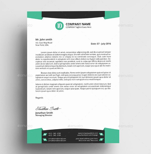 Stationary Template for Word Lovely 37 Professional Letterhead Templates Free Word Psd Ai