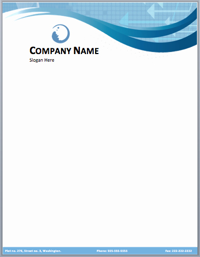 Stationary Template for Word Luxury 17 Pany Letterhead Templates Excel Pdf formats