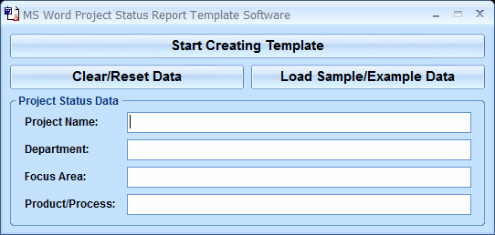 Status Report Template Word Elegant Ms Word Project Status Report Template software