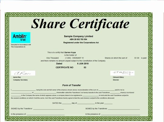 Stock Certificate Template Word Inspirational Register Free and software Reviews Cnet