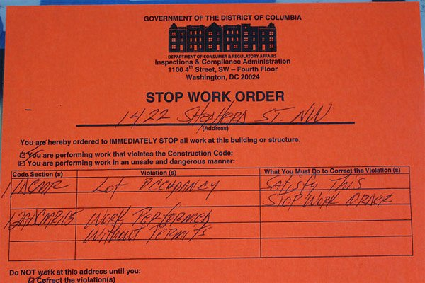 Stop Work order Template Beautiful Flipped F In D C 's Thriving Market for Renovated Homes