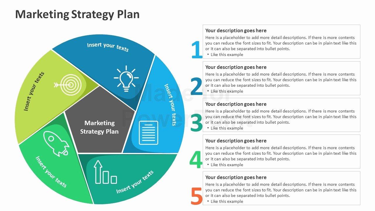 Strat Plan Powerpoint Template Best Of Marketing Strategy Plan Editable Powerpoint Template