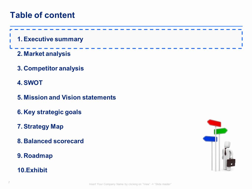Strat Plan Powerpoint Template Elegant Download A Simple Strategic Plan Template