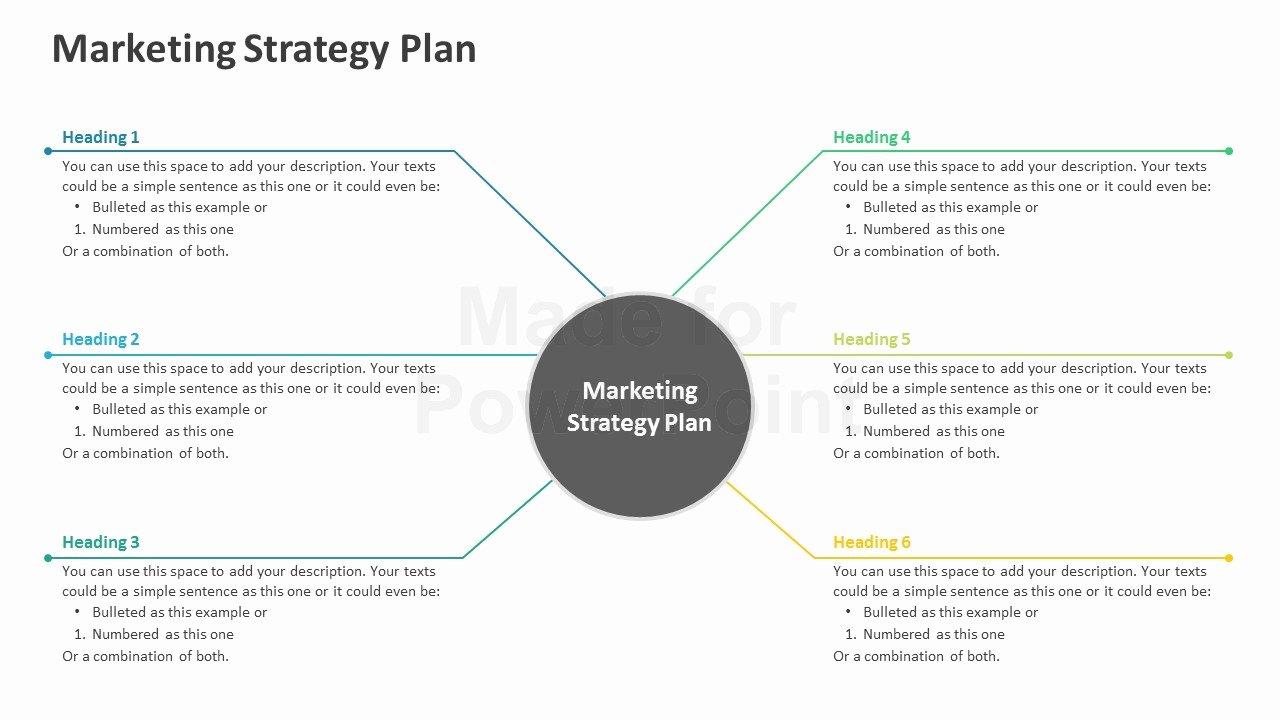 Strat Plan Powerpoint Template Lovely Marketing Strategy Plan Editable Powerpoint Template