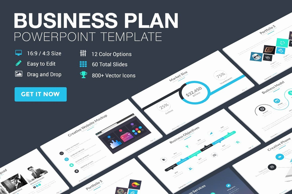 Strat Plan Powerpoint Template Unique Business Plan Powerpoint Template Powerpoint Templates
