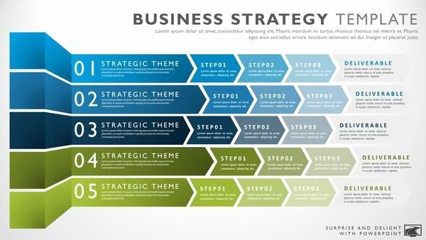 Strat Plan Powerpoint Template Unique Business Strategy Template