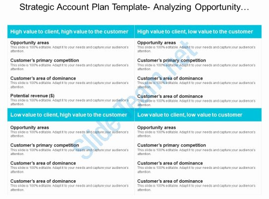 Strategic Account Plan Template Best Of Style Essentials 2 Pare 2 Piece Powerpoint