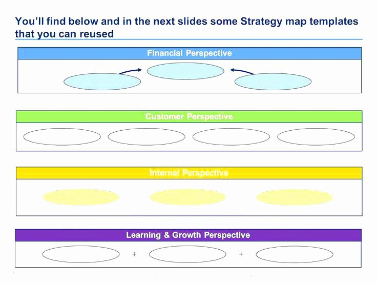 Strategic Group Mapping Template Best Of Balanced Scorecard Example Strategy Map Measurement Pss