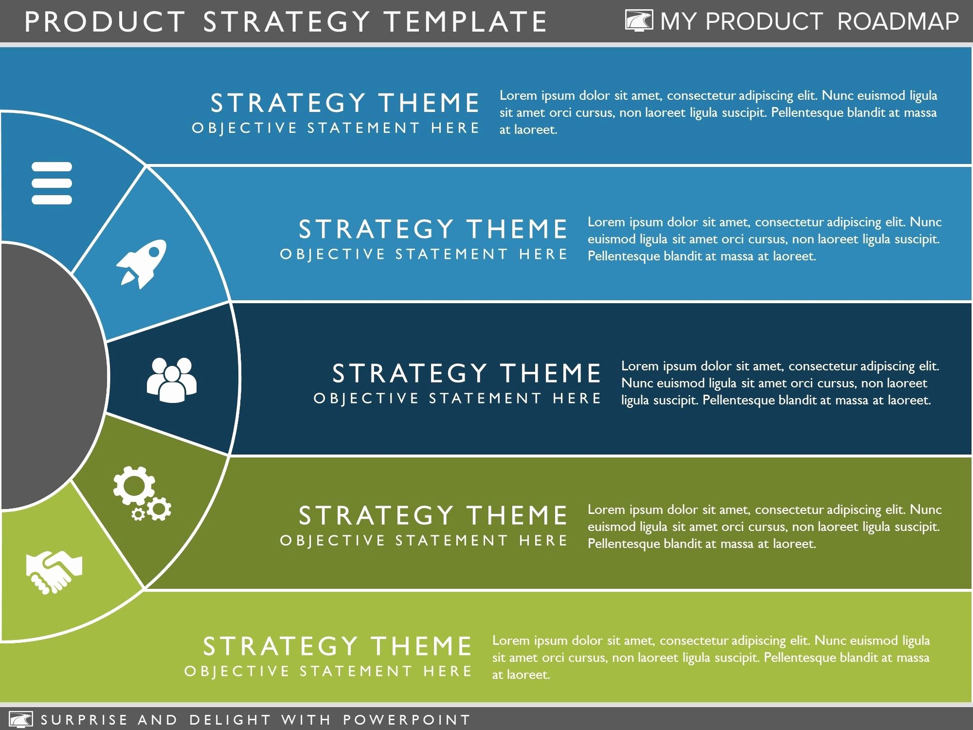 Strategic Plan Powerpoint Template Beautiful Product Strategy Template Clickfunnel Hacks