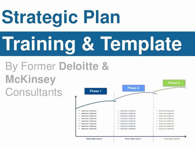 Strategic Plan Powerpoint Template Fresh Strategic Plan Template
