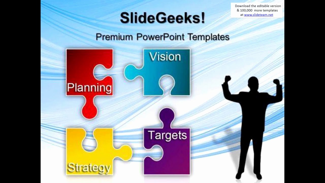 Strategic Plan Powerpoint Template Luxury Puzzle Strategy Planning Business Powerpoint Templates and