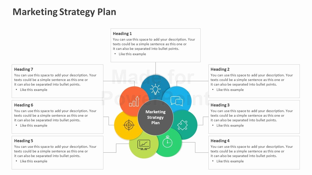 Strategic Plan Powerpoint Template New Marketing Strategy Plan Editable Powerpoint Template