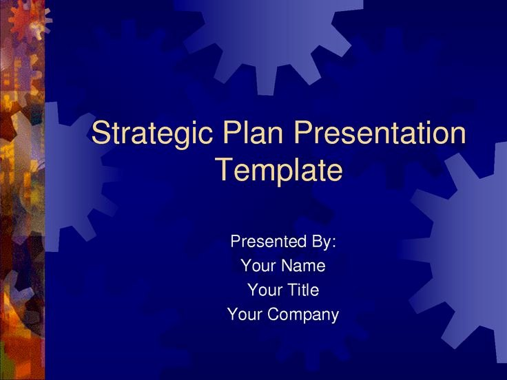 Strategic Plan Ppt Template Awesome Strategic Plan Powerpoint Templates Business Plan