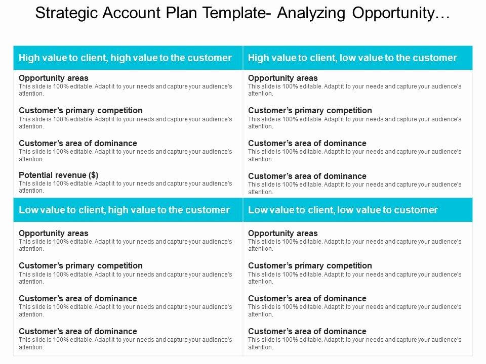 Strategic Plan Ppt Template Elegant Strategic Account Plan Template Analyzing Opportunity