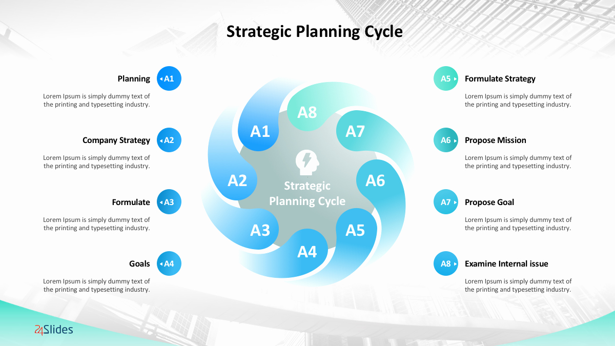 Strategic Plan Ppt Template New Management Strategy Templates