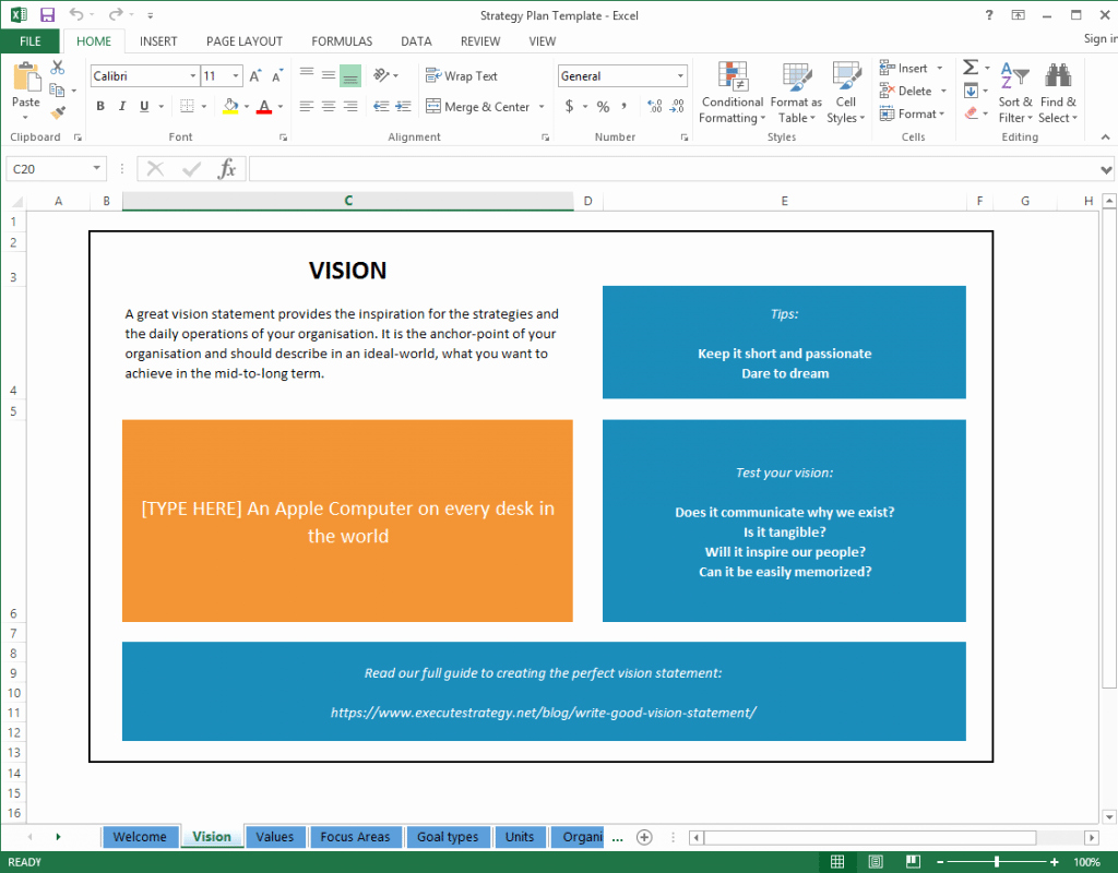Strategic Plan Template Excel Beautiful top 5 Resources to Get Free Strategic Plan Templates