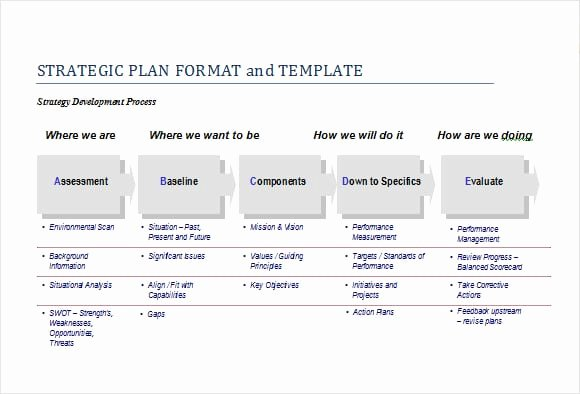 Strategic Plan Template Excel Inspirational top 5 Resources to Get Free Strategic Plan Templates