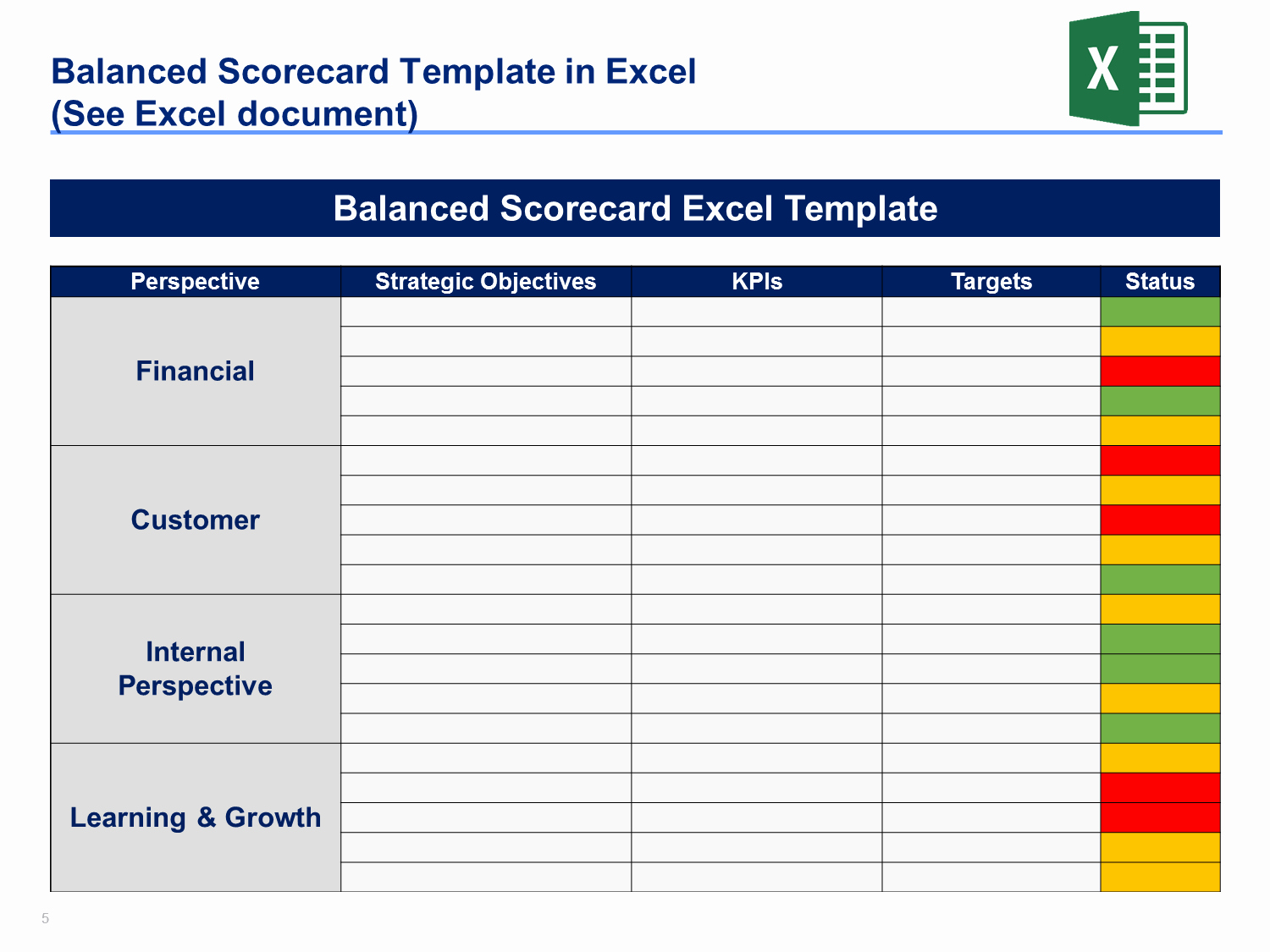 Strategic Plan Template Excel New Download A Simple Strategic Plan Template