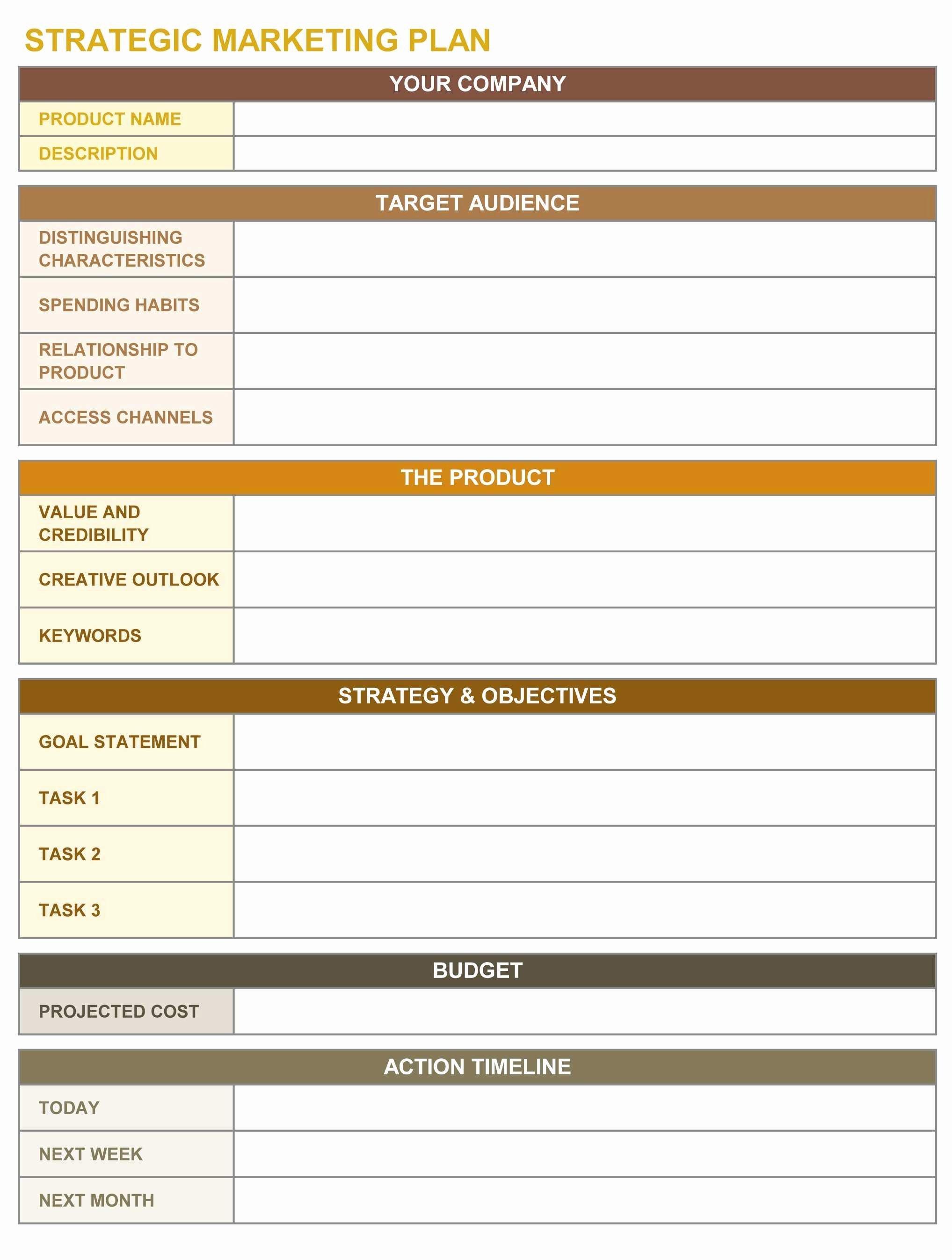 Strategic Plan Template Nonprofit Inspirational Inspirational Strategic Planning Template Non Profit