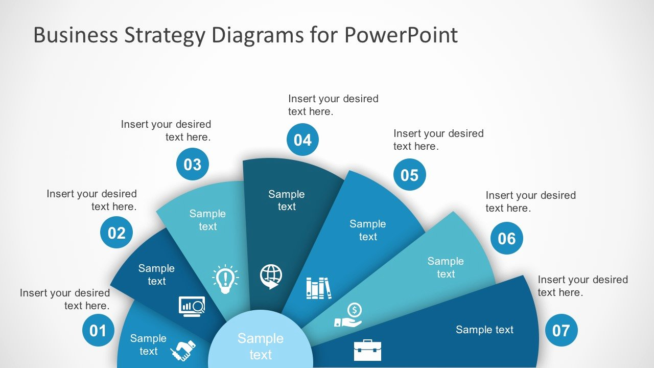 Strategic Plan Template Ppt Luxury Free Business Strategy Diagram Powerpoint Slidemodel