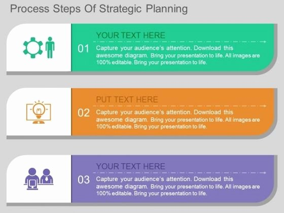 Strategic Planning Template Ppt New Process Steps Strategic Planning Powerpoint Template
