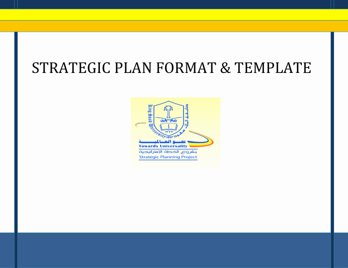 Strategic Planning Template Word Beautiful Strategic Plan format and Template In Word and Pdf formats