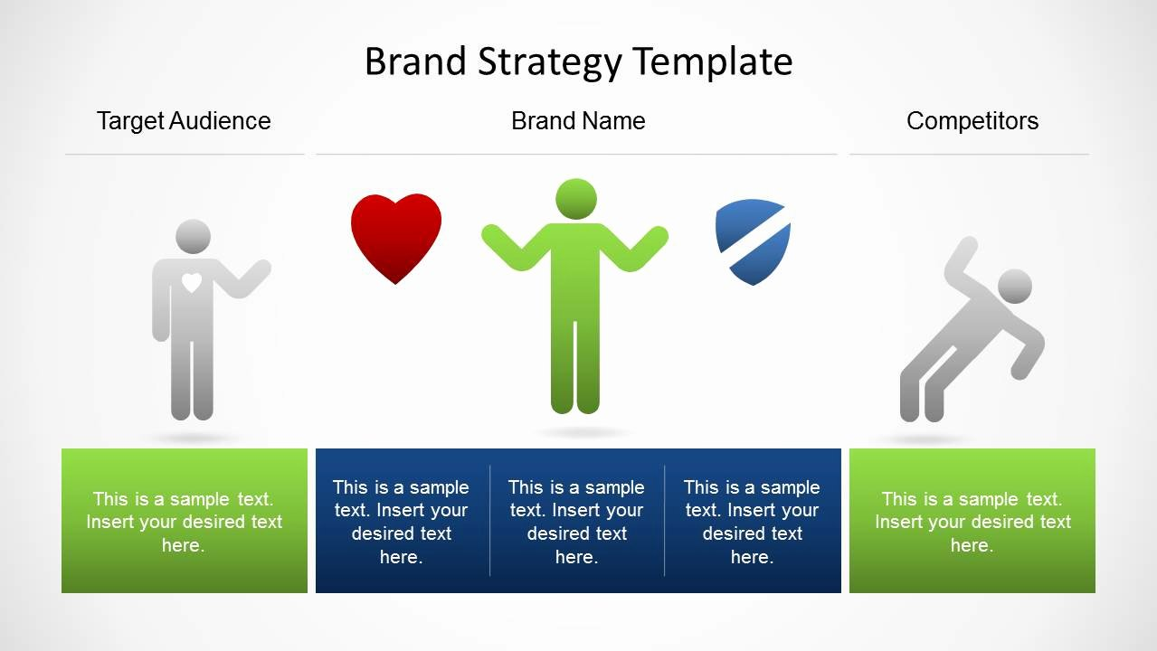 Strategy Plan Template Powerpoint Best Of Brand Strategy Template for Powerpoint Slidemodel