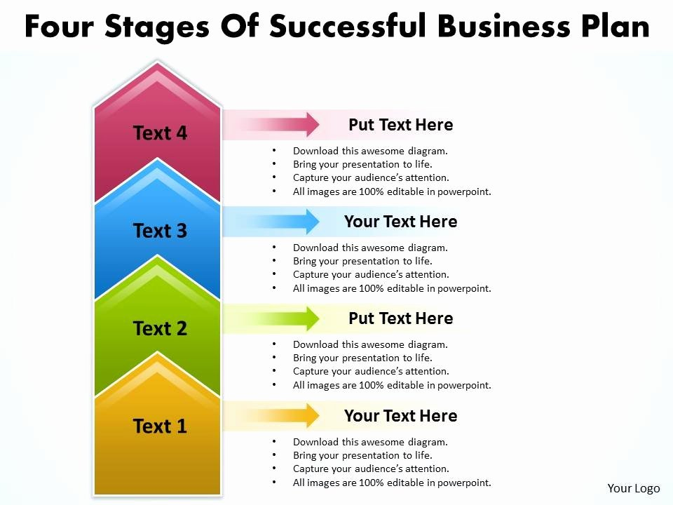 Strategy Plan Template Powerpoint Best Of Business Powerpoint Templates Four State Diagram Ppt Of