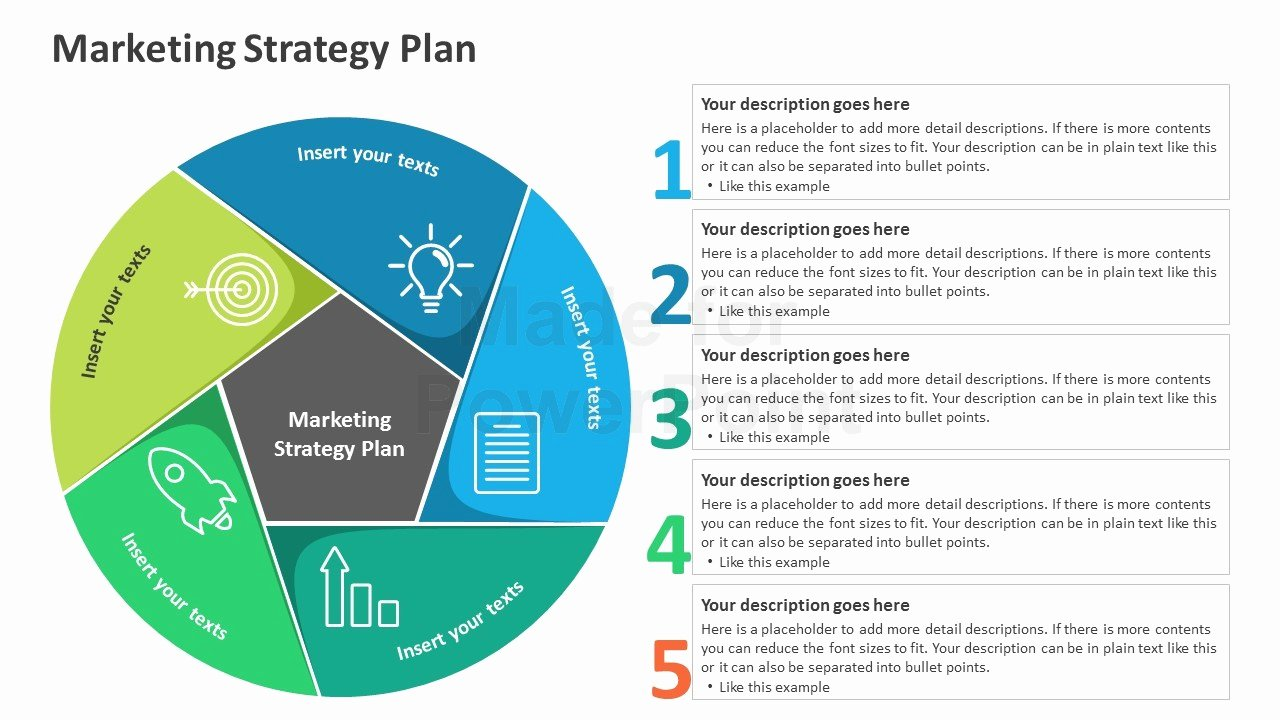 Strategy Plan Template Powerpoint Best Of Marketing Strategy Plan Editable Powerpoint Template