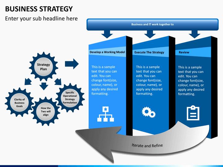 Strategy Plan Template Powerpoint Luxury Business Strategy Powerpoint Template
