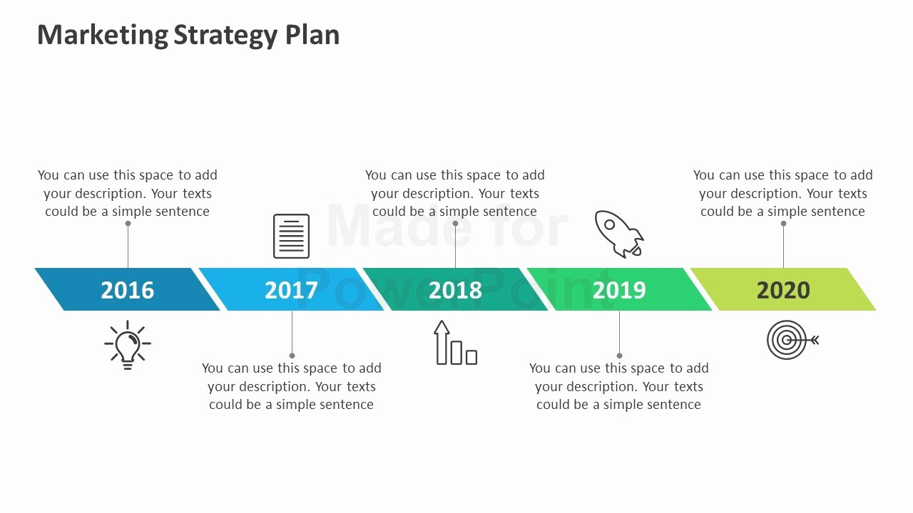 Strategy Plan Template Powerpoint Unique Marketing Strategy Plan Editable Powerpoint Template