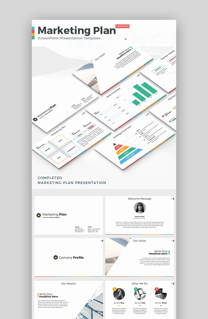Strategy Planning Template Ppt Fresh 20 Marketing Powerpoint Templates Best Ppts to Present