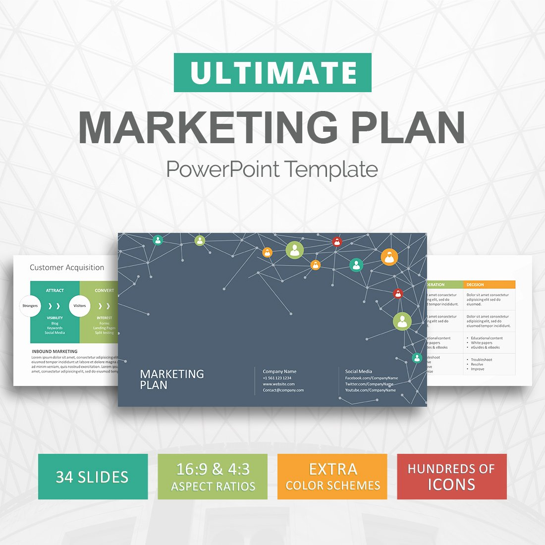 Strategy Planning Template Ppt Unique Marketing Plan Powerpoint Template Marketing Strategy