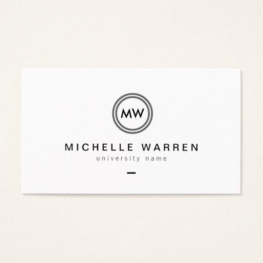 Student Business Card Template Awesome Student Business Card Template
