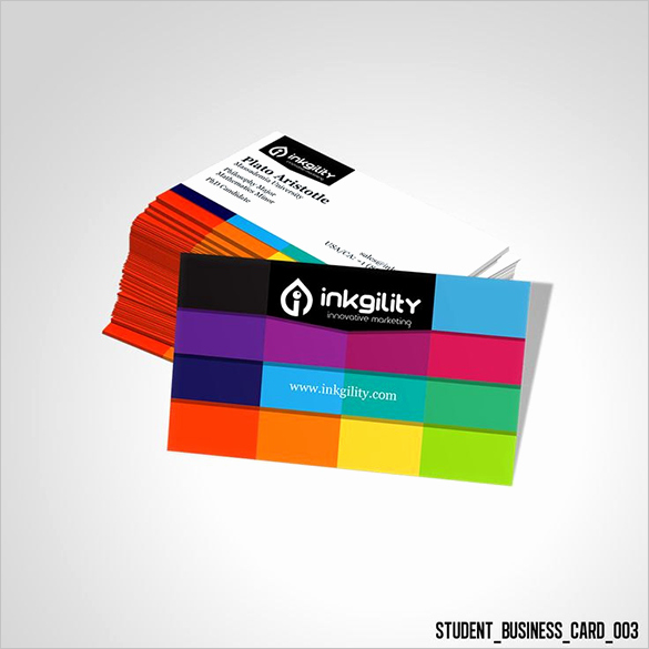 Student Business Card Template Best Of 18 Student Business Cards Free Printable Psd Eps Word