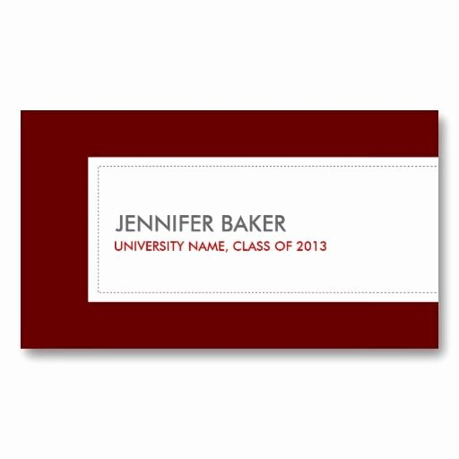 Student Business Card Template Best Of Best 21 Business Cards for College and University Students