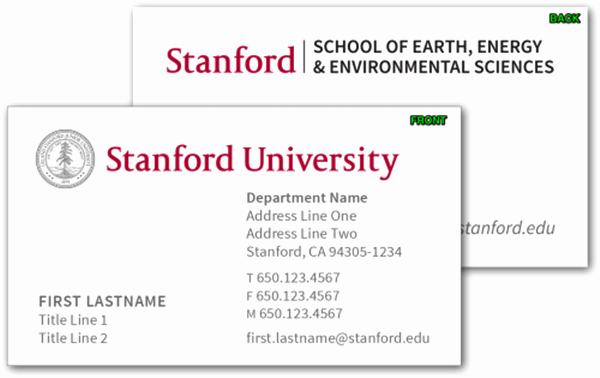 Student Business Card Template Elegant College and Graduate Student Business Cards Template
